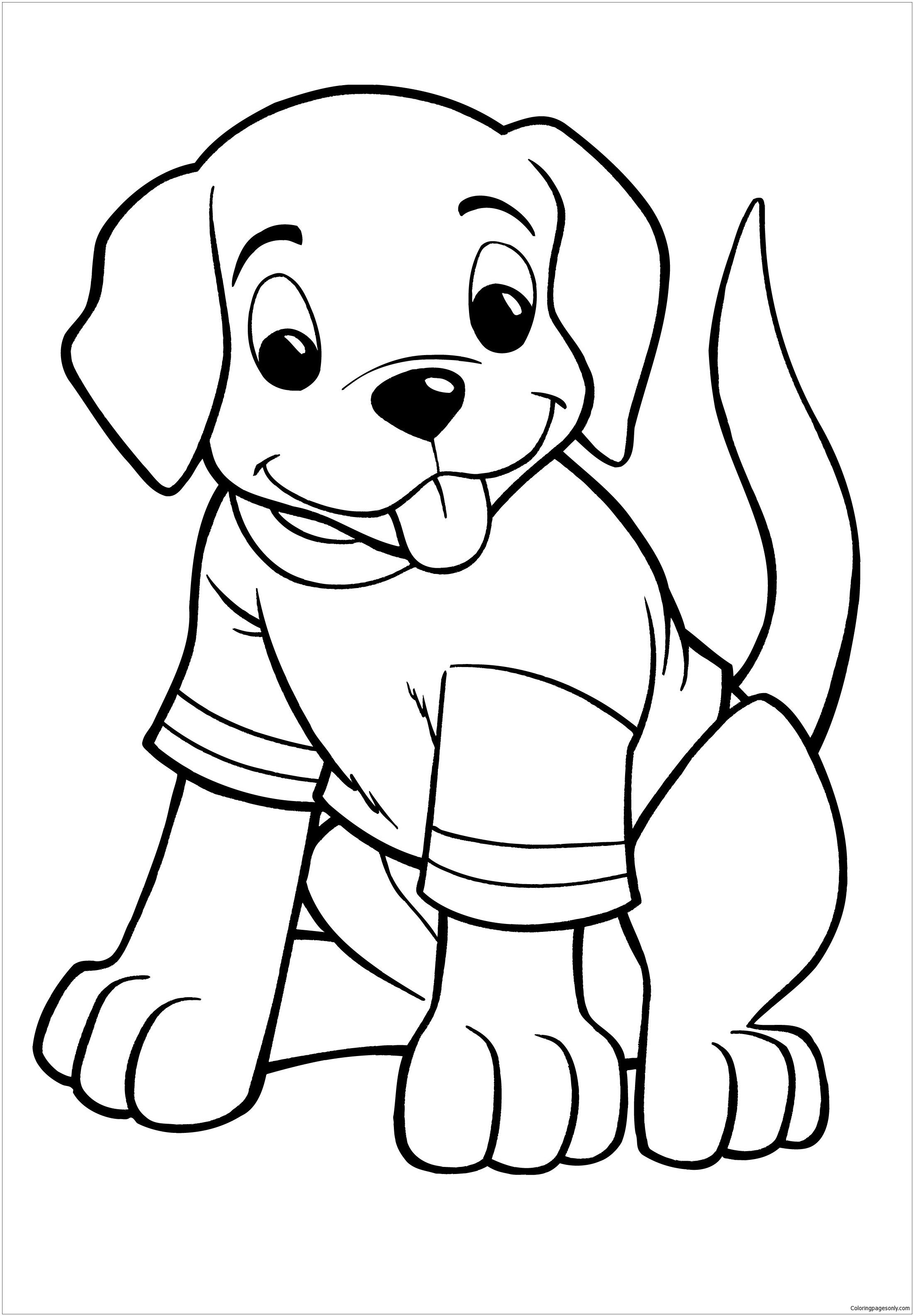 printable picture of a dog puppy coloring pages best coloring pages for kids dog picture a of printable
