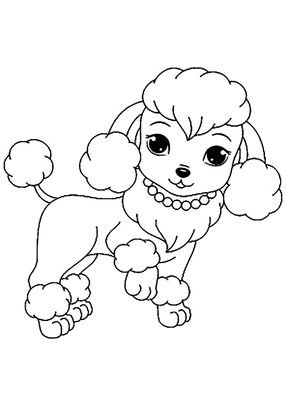 printable picture of a dog realistic puppy coloring pages download and print for free printable picture a dog of