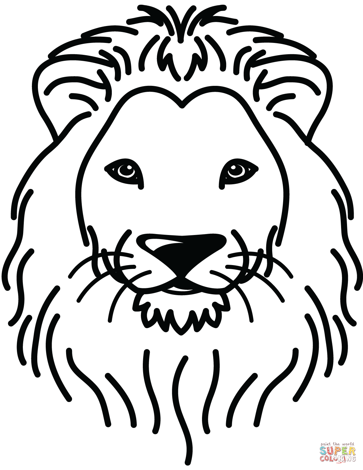 printable pictures of lions lion head colouring pages sketch coloring page lions printable pictures of