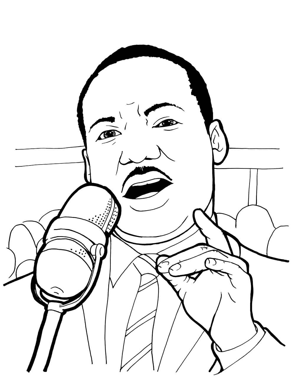 printable pictures of martin luther king martin luther king coloring pages free coloring home martin luther of pictures king printable