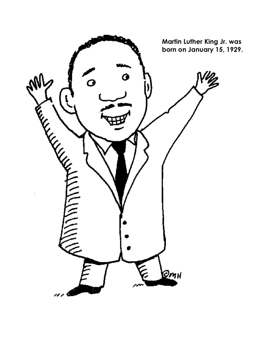 printable pictures of martin luther king martin luther king jr coloring pages and worksheets best king luther martin printable pictures of