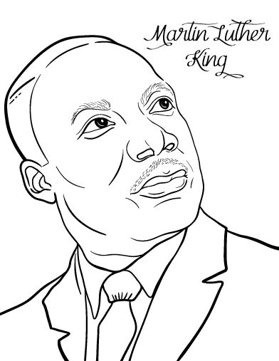 printable pictures of martin luther king martin luther king jr coloring pages and worksheets best luther printable king martin of pictures