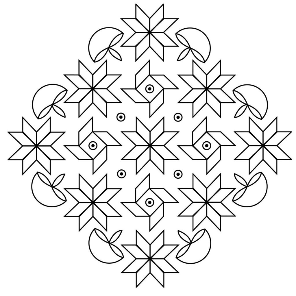 printable rangoli coloring pages free printable rangoli coloring pages for kids rangoli printable pages coloring 1 1