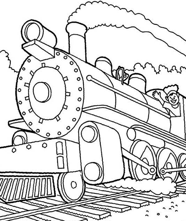 printable steam train coloring pages choo choo train coloring pages coloring home train printable pages coloring steam