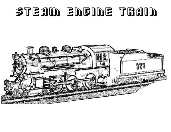 printable steam train coloring pages steam engine coloring pages at getcoloringscom free steam train coloring printable pages