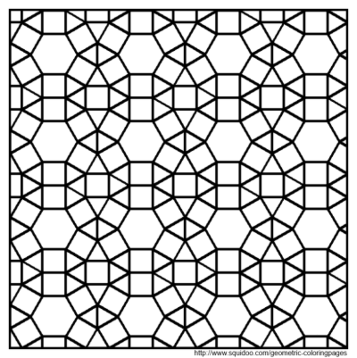 printable tessellation patterns to color geometric coloring pages to patterns tessellation printable color