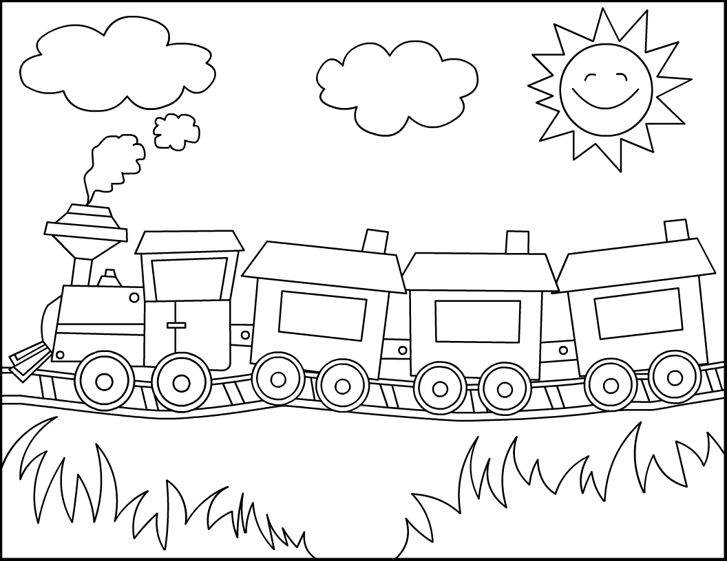 printable train coloring pages free printable train coloring pages coloring home train coloring printable pages 1 1
