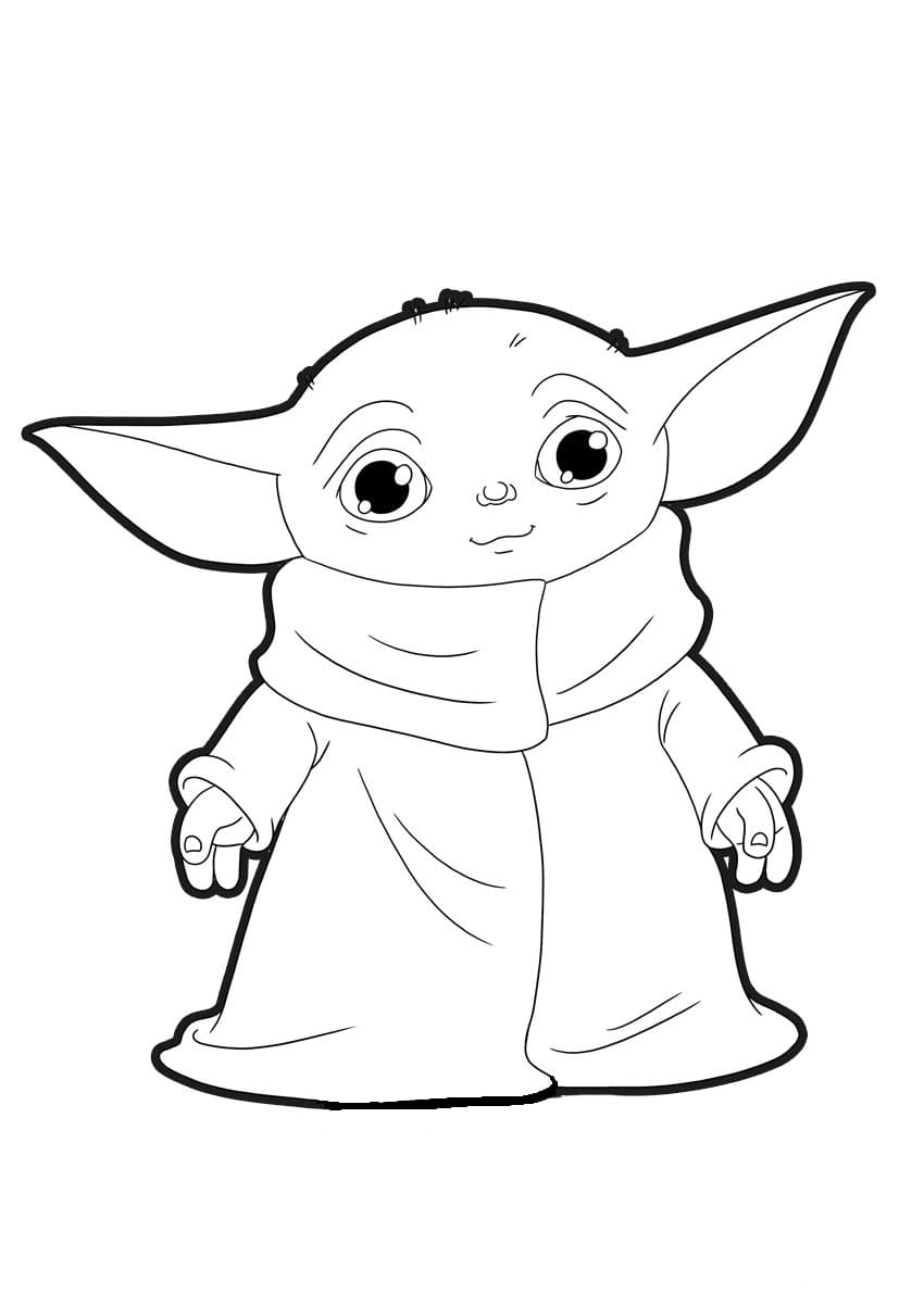 printable yoda coloring pages coloring pages disney baby yoda printable pages yoda coloring