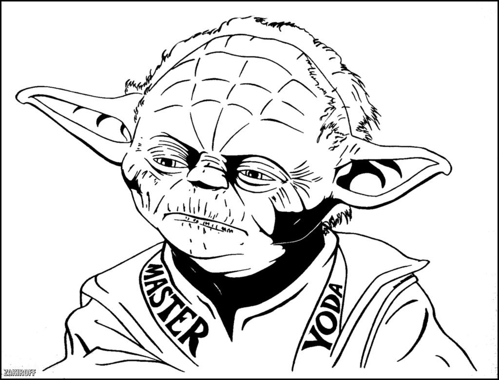 printable yoda coloring pages simple yoda coloring pages yoda printable pages coloring