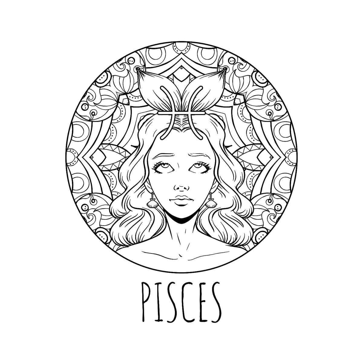 printable zodiac coloring pages aquarius zodiac sign coloring page free printable coloring zodiac printable pages