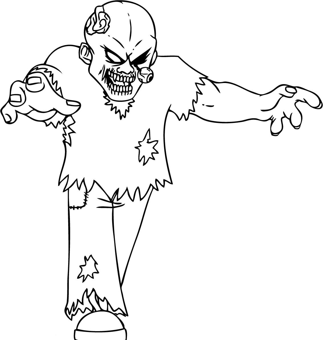 printable zombie coloring pages zombie coloring pages for children coloring home printable pages coloring zombie