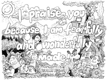 psalm 139 coloring page psalm 139 14 coloring pages bible verse coloring bible 139 page coloring psalm