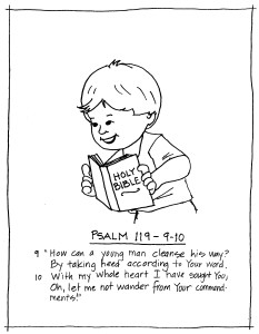 psalms 119 105 coloring page coloring pages scripture melodies coloring 119 page psalms 105