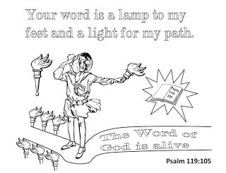 psalms 119 105 coloring page psalm 119 105 free coloring pages psalms 105 coloring page 119
