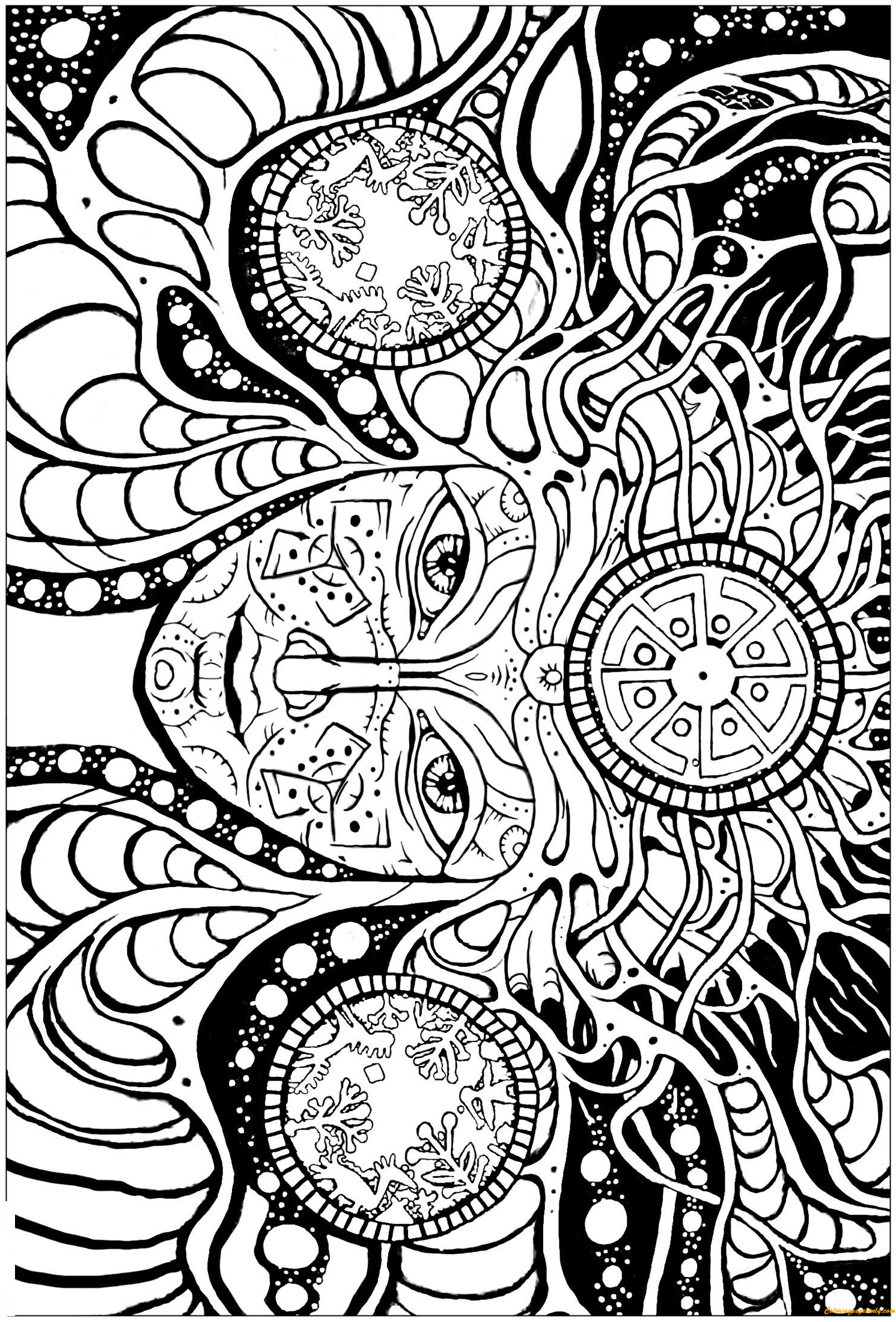 psychedelic coloring pages best 15 psychedelic coloring pages library coloring pages psychedelic coloring