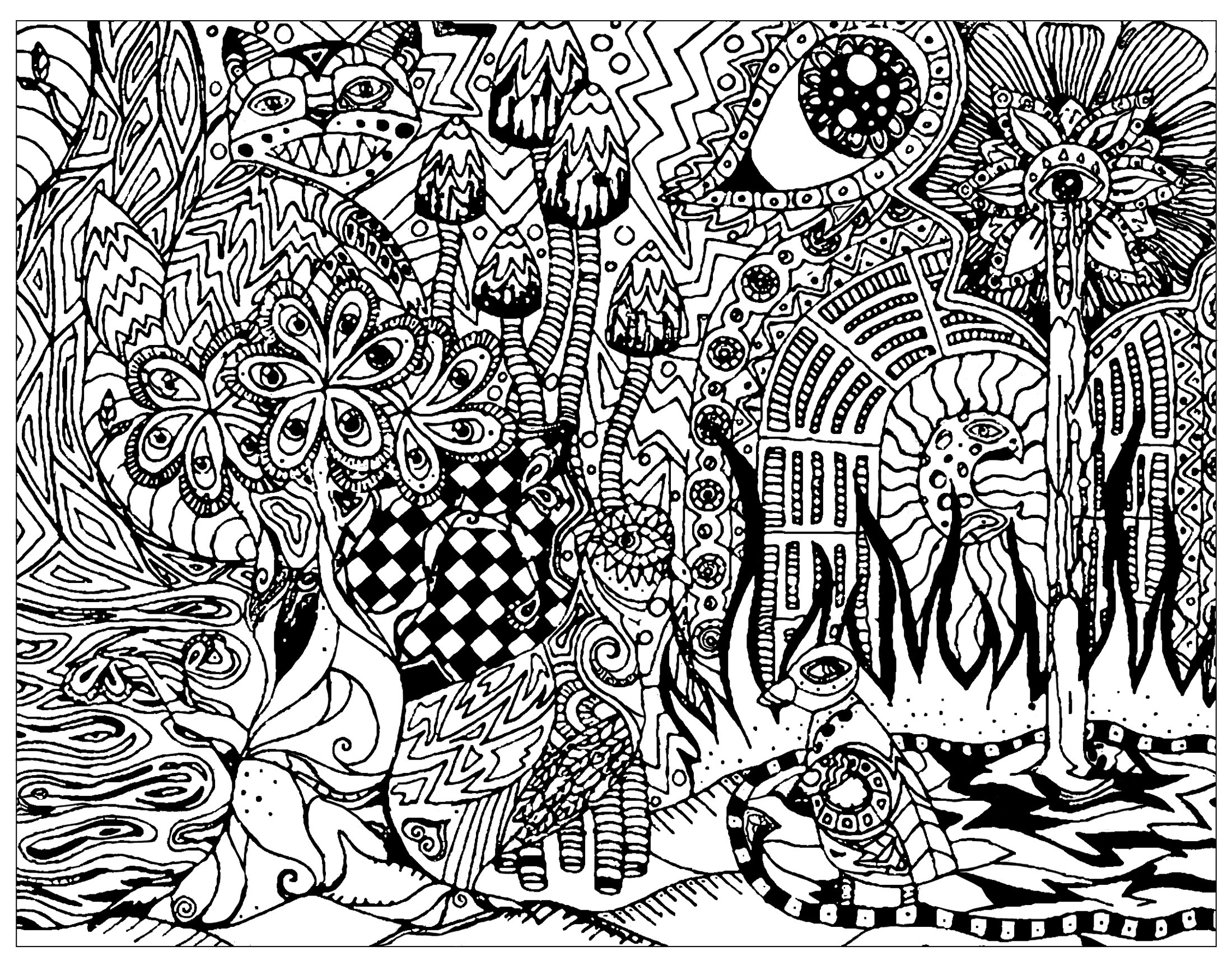 psychedelic coloring pages psychedelic coloring pages for adults free printable coloring psychedelic pages