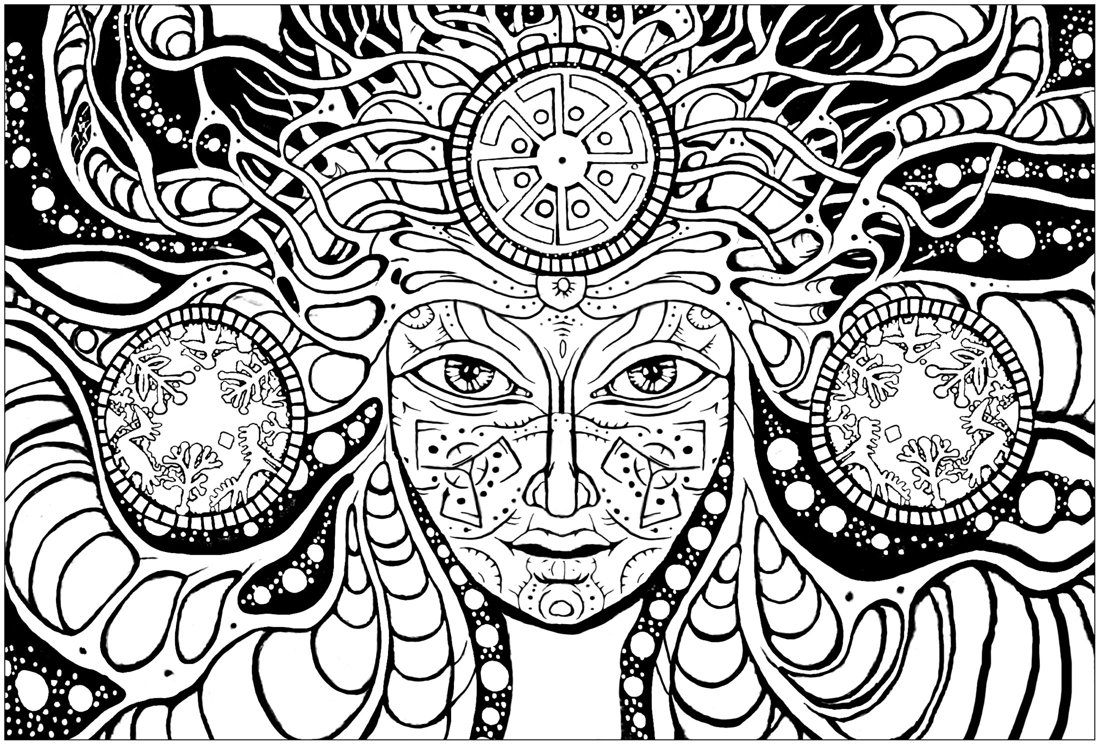 psychedelic coloring pages psychedelic faces psychedelic adult coloring pages coloring pages psychedelic