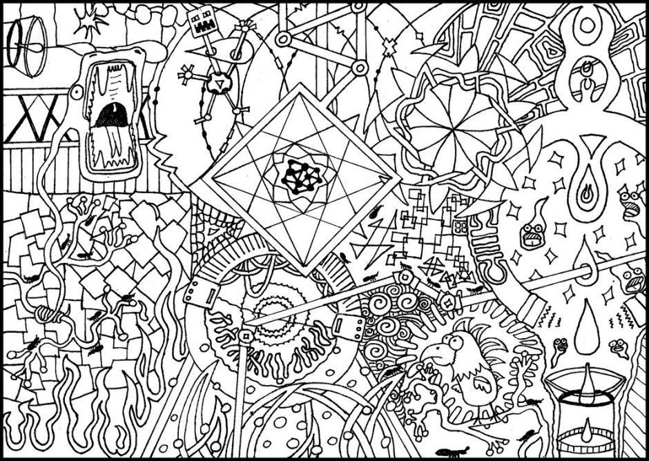 psychedelic coloring pages psychedelic femme coloring page free coloring pages online coloring pages psychedelic