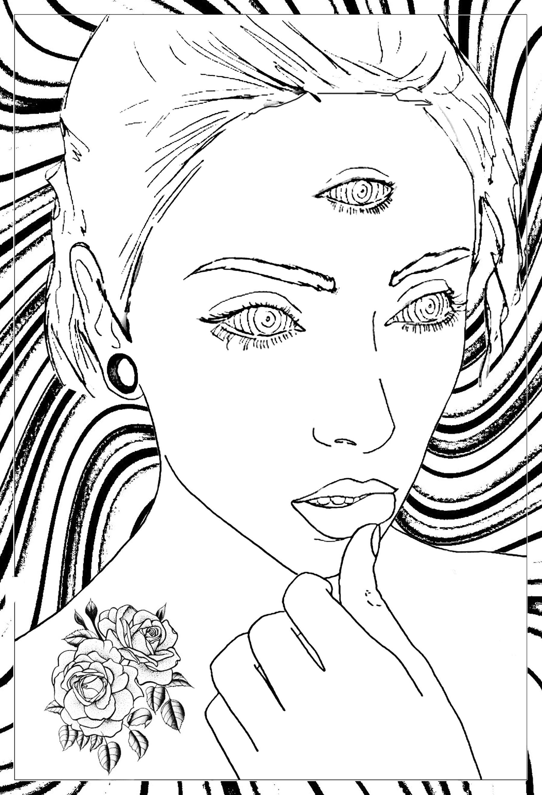 psychedelic coloring pages psychedelic patterns hidden cat psychedelic adult coloring psychedelic pages