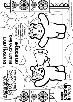 pudsey bear colouring pages free pudsey bear colouring template classroom ideas colouring pudsey free pages bear