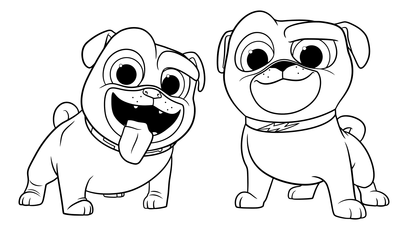 puppy coloring pages printable free puppy dog pals coloring pages to download and print for free printable coloring puppy free pages