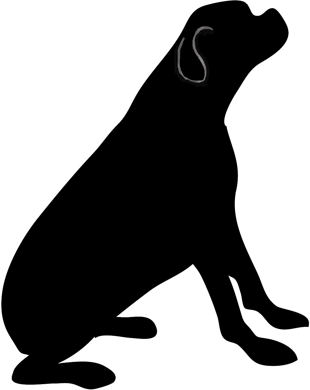 puppy silhouette happy small dog pet silhouette svg png icon free download silhouette puppy