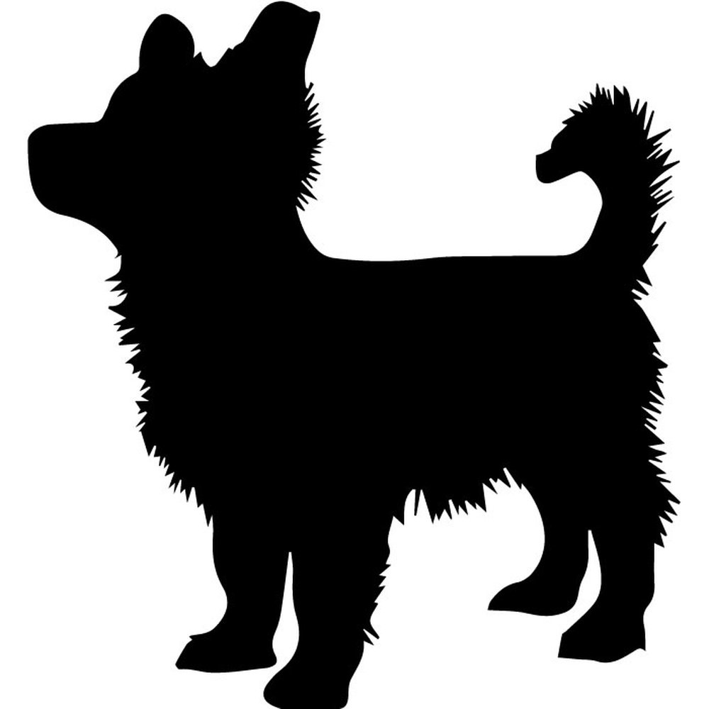 puppy silhouette pomeranian puppy silhouette wall sticker dog wall art puppy silhouette