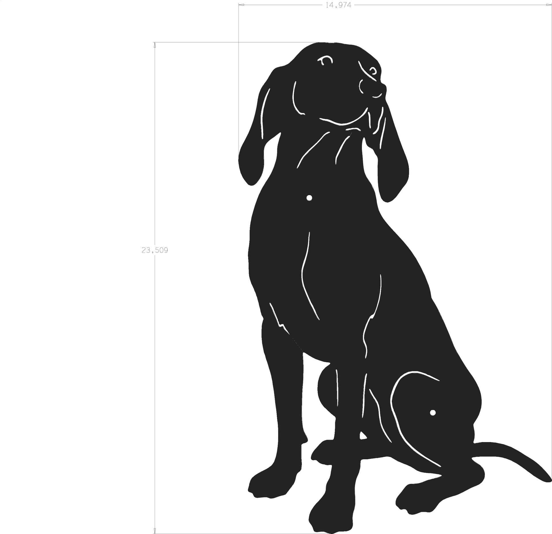 puppy silhouette silhouette of dog free stock photo public domain pictures puppy silhouette