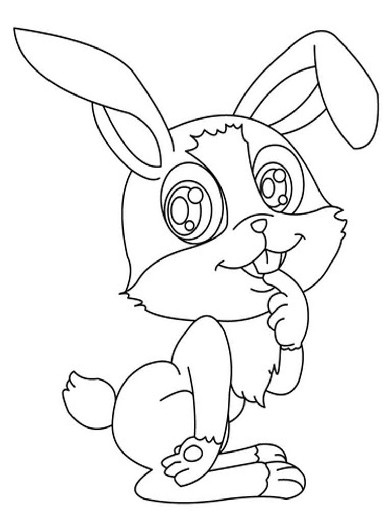 rabbit coloring for kids rabbit to download for free rabbit kids coloring pages rabbit kids coloring for