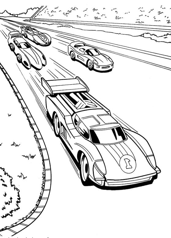 race car coloring page nascar car drawing at getdrawings free download race coloring car page