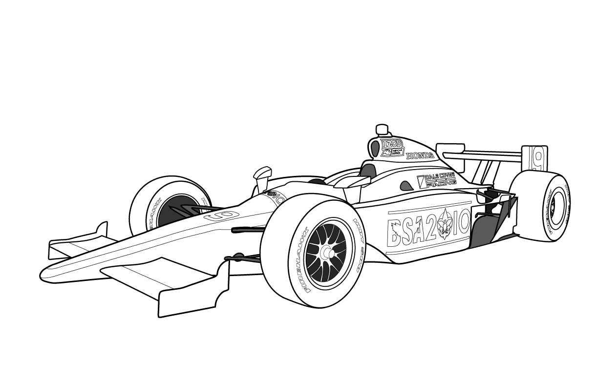 race car printables indy car coloring pages coloring home race car printables
