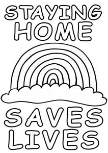 rainbow house coloring pages baby accessories coloring pages archives rainbow coloring rainbow pages house