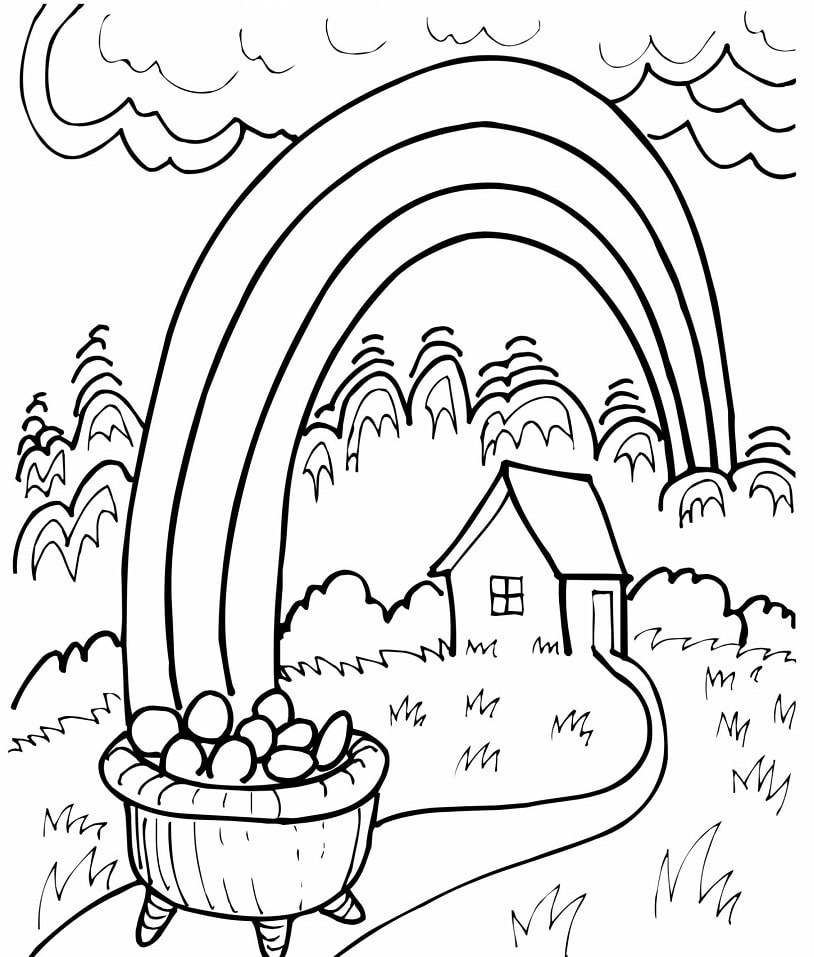 rainbow house coloring pages beautiful house rainbow coloring page mitraland coloring house pages rainbow