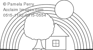 rainbow house coloring pages free printable house coloring pages for kids house house coloring rainbow pages