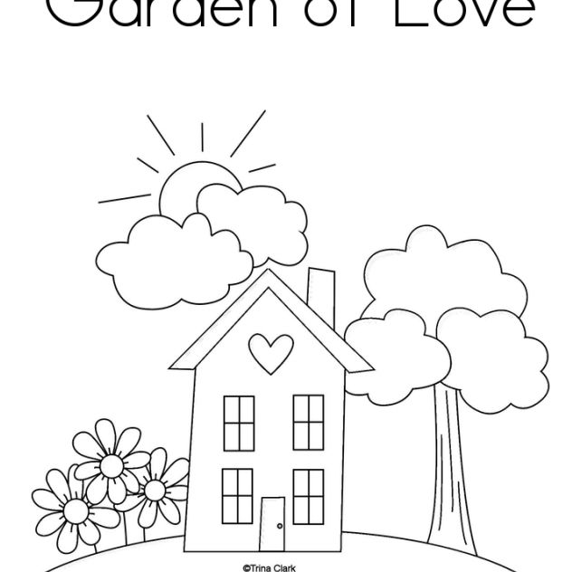 rainbow house coloring pages how to draw beautiful house drawing and painting rainbow house rainbow pages coloring