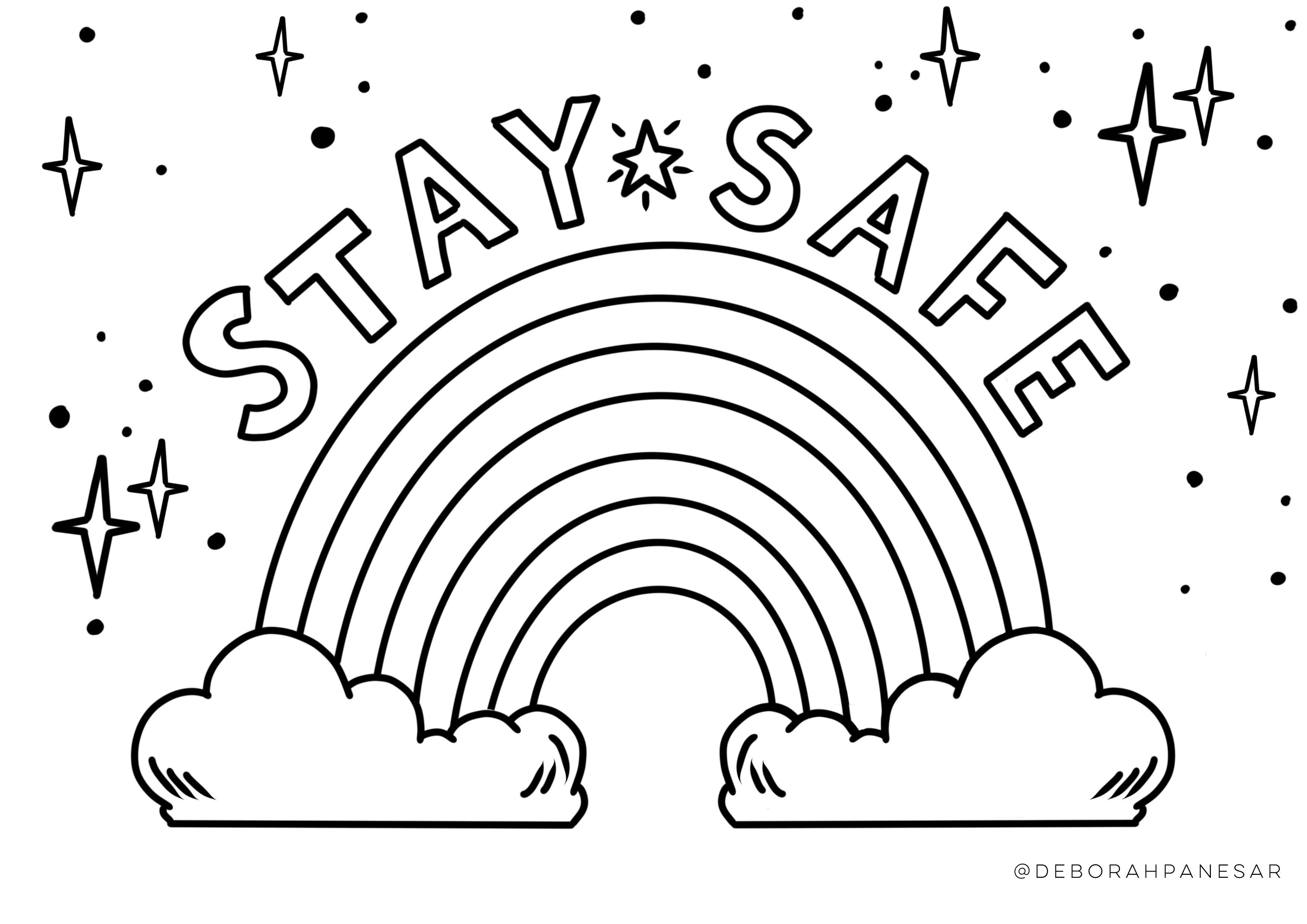 rainbow house coloring pages images of rainbow bright coloring pages 3996 coloring rainbow house pages coloring