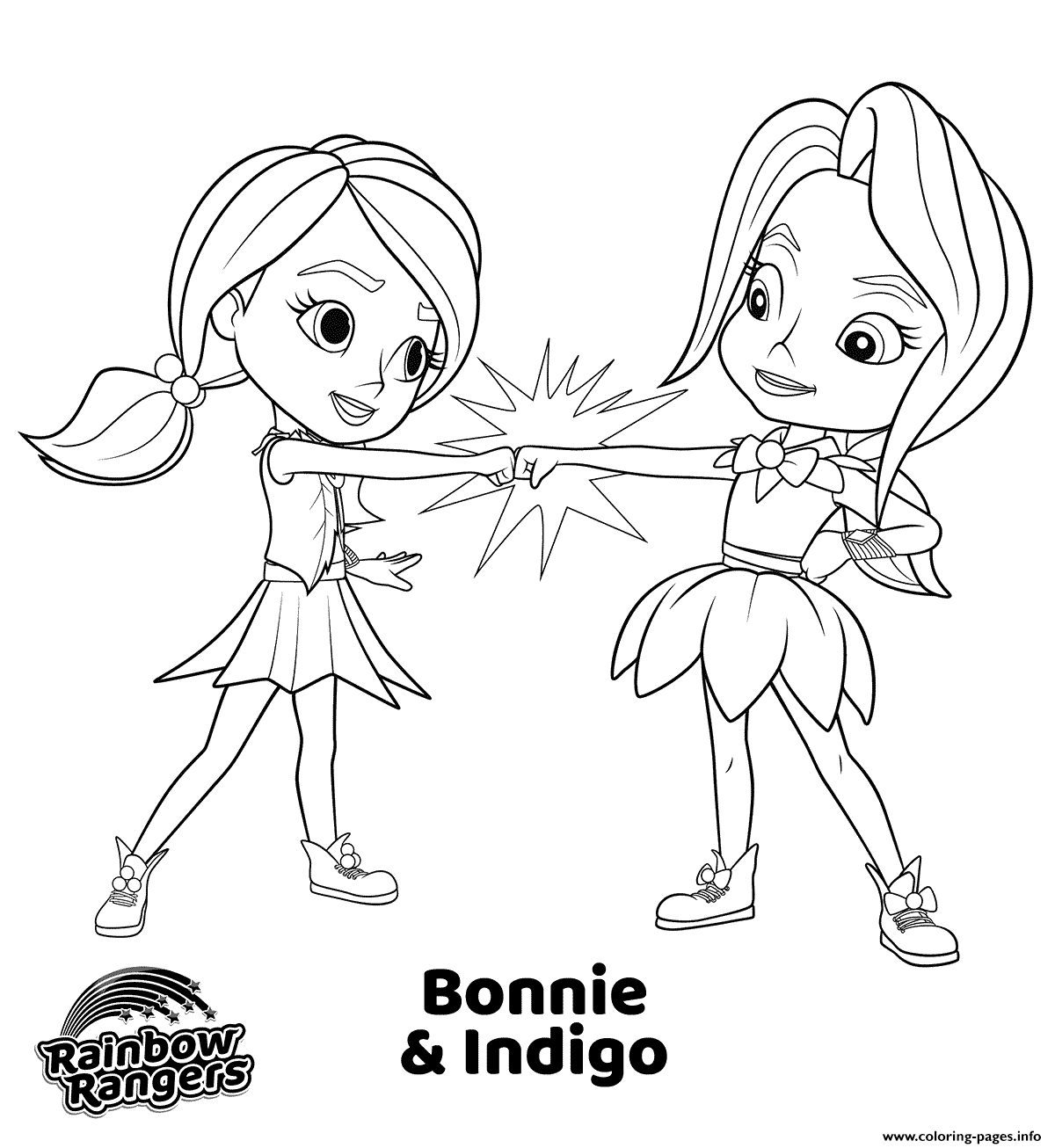 rainbow rangers coloring pages 15 tutorial rainbow rangers coloring page with video and coloring rainbow pages rangers