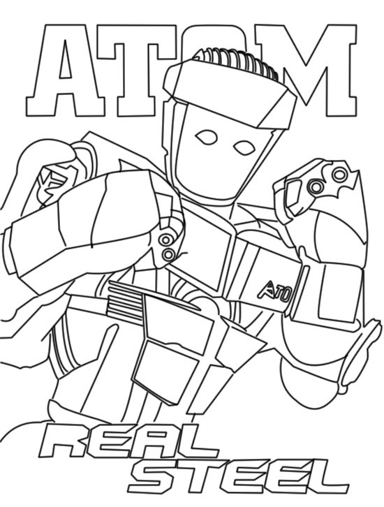 Real coloring pages