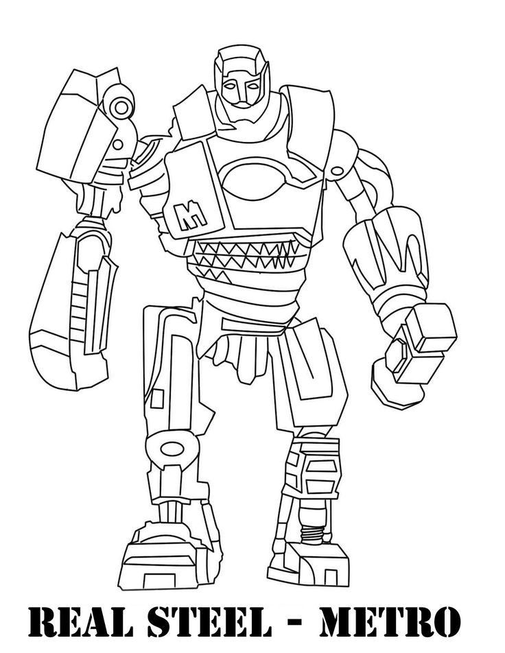 real coloring pages real steel coloring pages coloring pages to download and pages real coloring 1 1