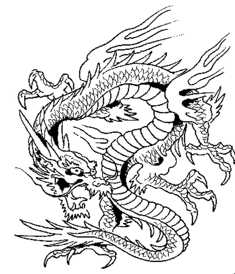 realistic hard dragon coloring pages dragon coloring pages printable dragon realistic hard coloring pages