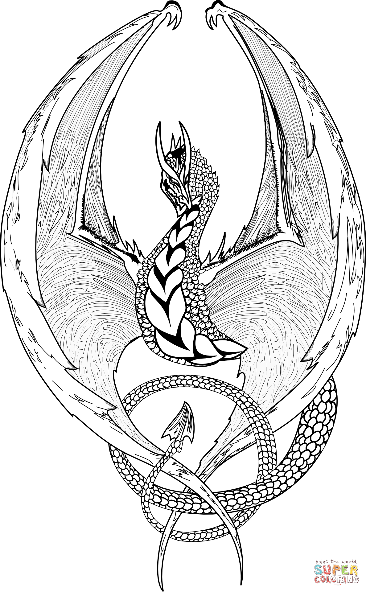 realistic hard dragon coloring pages hard coloring pages of dragons at getcoloringscom free hard pages coloring dragon realistic