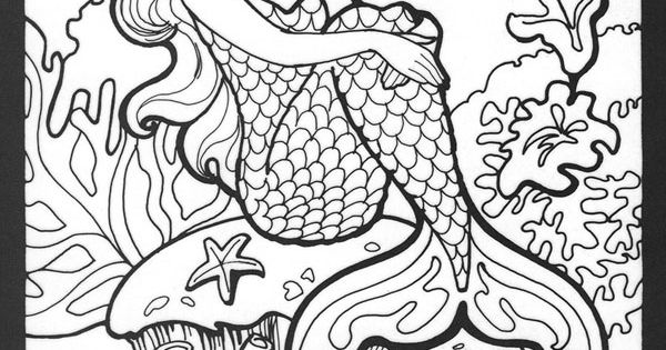 realistic hard mermaid coloring pages mermaid myth mythical mystical legend mermaids siren coloring pages mermaid realistic hard