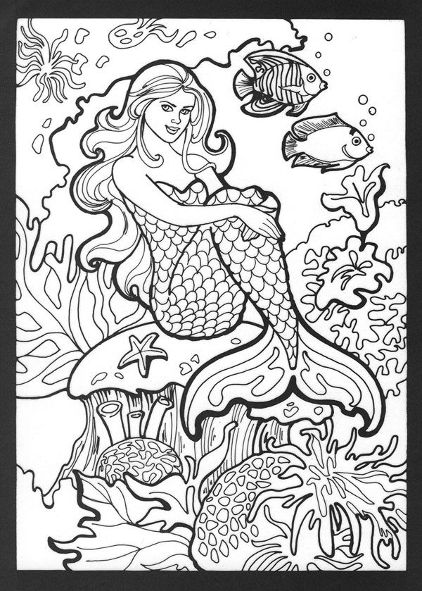 realistic hard mermaid coloring pages people hard coloring pages coloring home mermaid coloring hard realistic pages