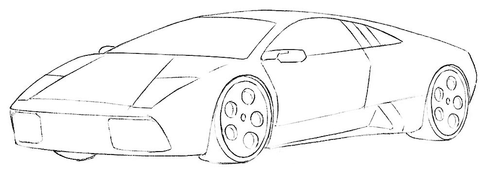 realistic lamborghini coloring pages lambo coloring page coloringpagezcom realistic lamborghini coloring pages