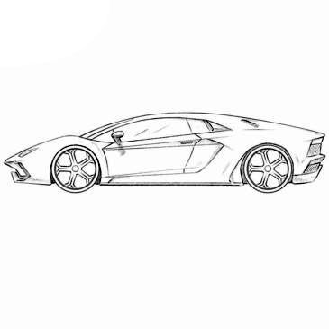realistic lamborghini coloring pages lamborghini countach coloring page coloringpagezcom coloring pages realistic lamborghini