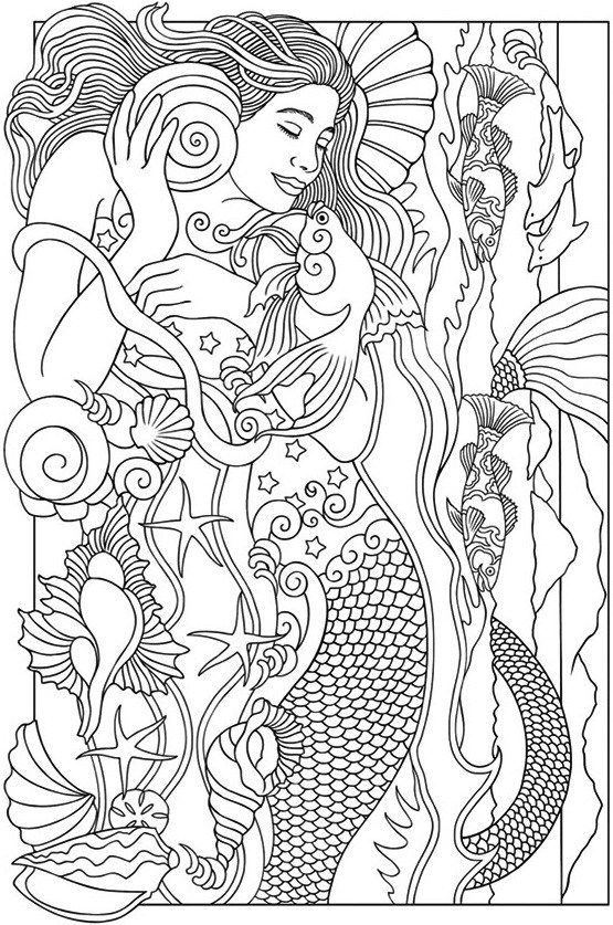 realistic printable mermaid coloring pages detailed coloring pages of mermaids examples and forms mermaid pages realistic coloring printable