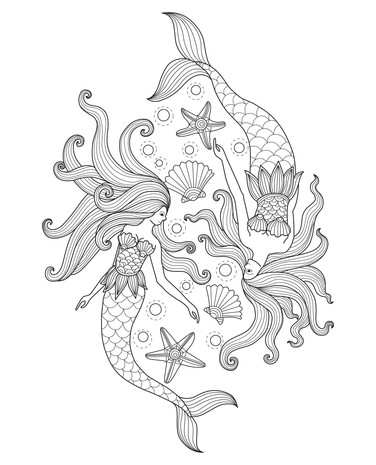 realistic printable mermaid coloring pages mermaid coloring pages 3 coloring pages to print pages coloring realistic mermaid printable