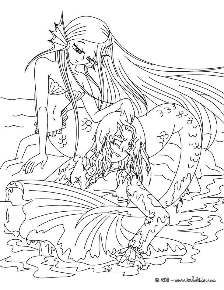 realistic printable mermaid coloring pages realistic mermaid coloring page youngandtaecom mermaid coloring realistic printable pages