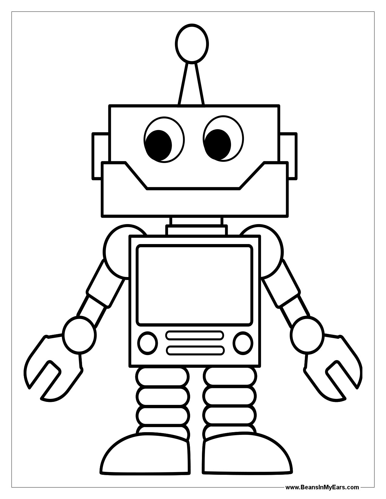 robot colouring pictures free printable robot coloring pages for kids cool2bkids pictures colouring robot 1 1
