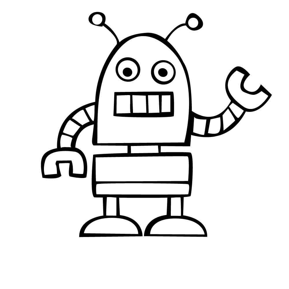 robot colouring pictures free printable robot coloring pages for kids cool2bkids pictures robot colouring 1 1